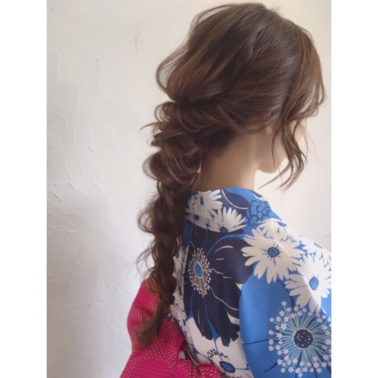 ロング デート フェミニン ゆるふわ ヘアスタイルや髪型の写真・画像