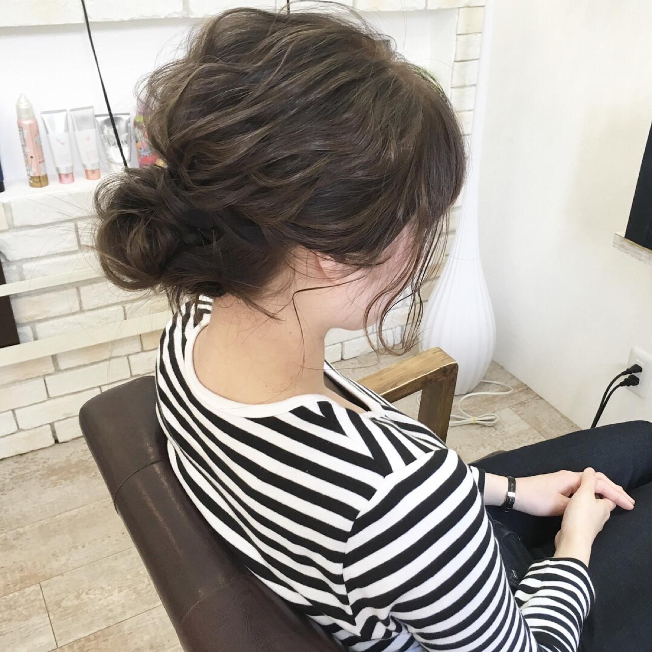 波ウェーブ ロング アッシュ 春 ヘアスタイルや髪型の写真・画像