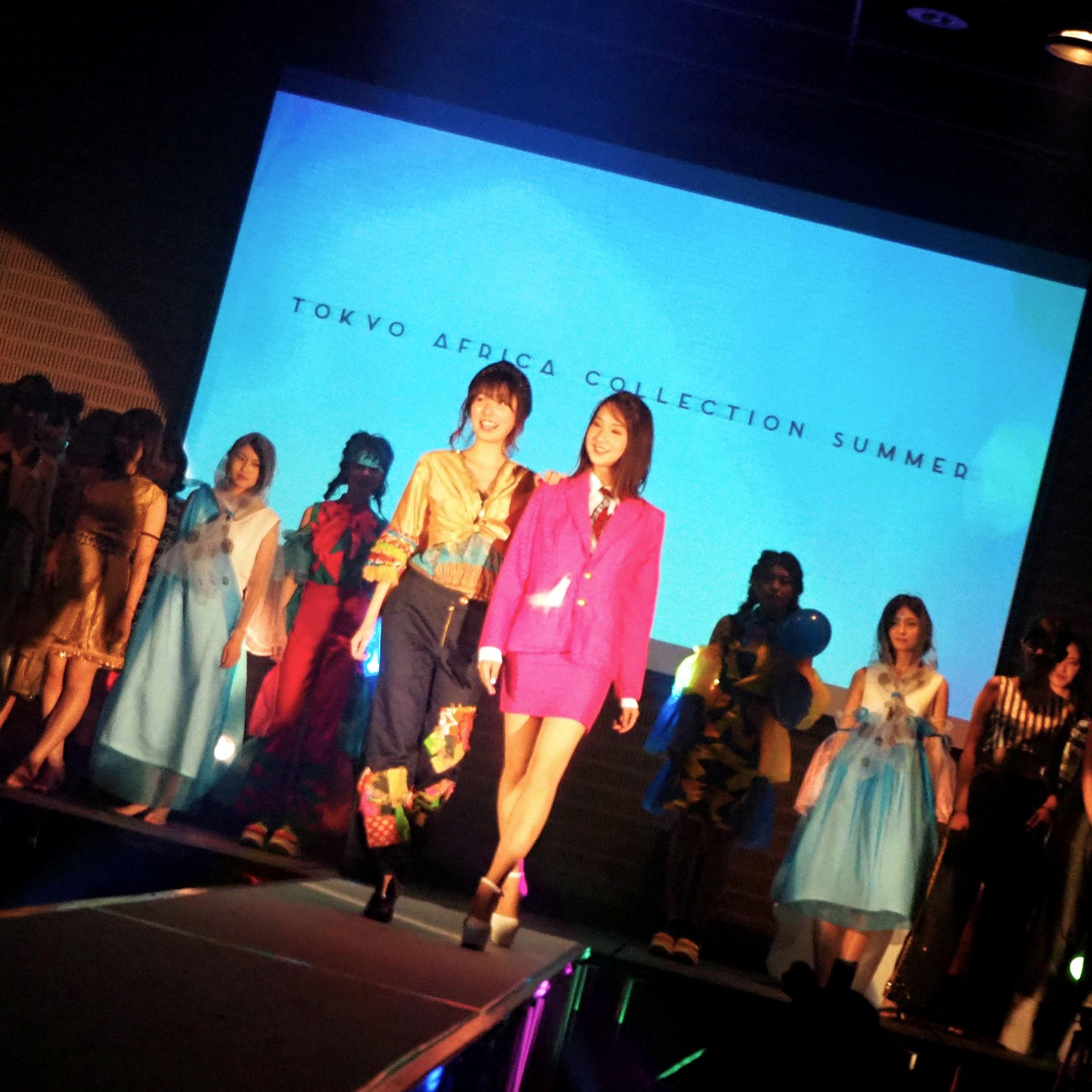 アフリカを服で表現!話題のファッションショー「Tokyo Africa Collection」