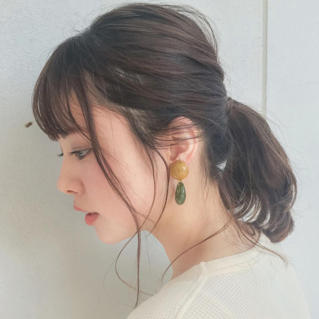 エラ 張り 髪型
