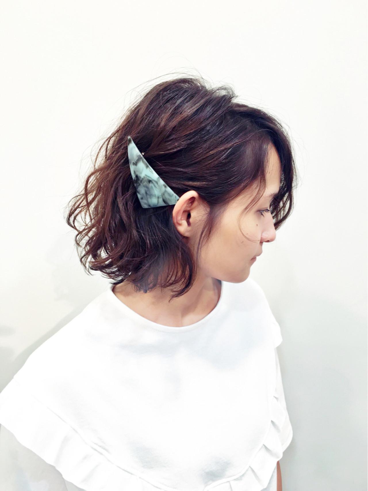 髪量多くてもOK!サイドすっきり見せヘア Rikiya Sakamoto