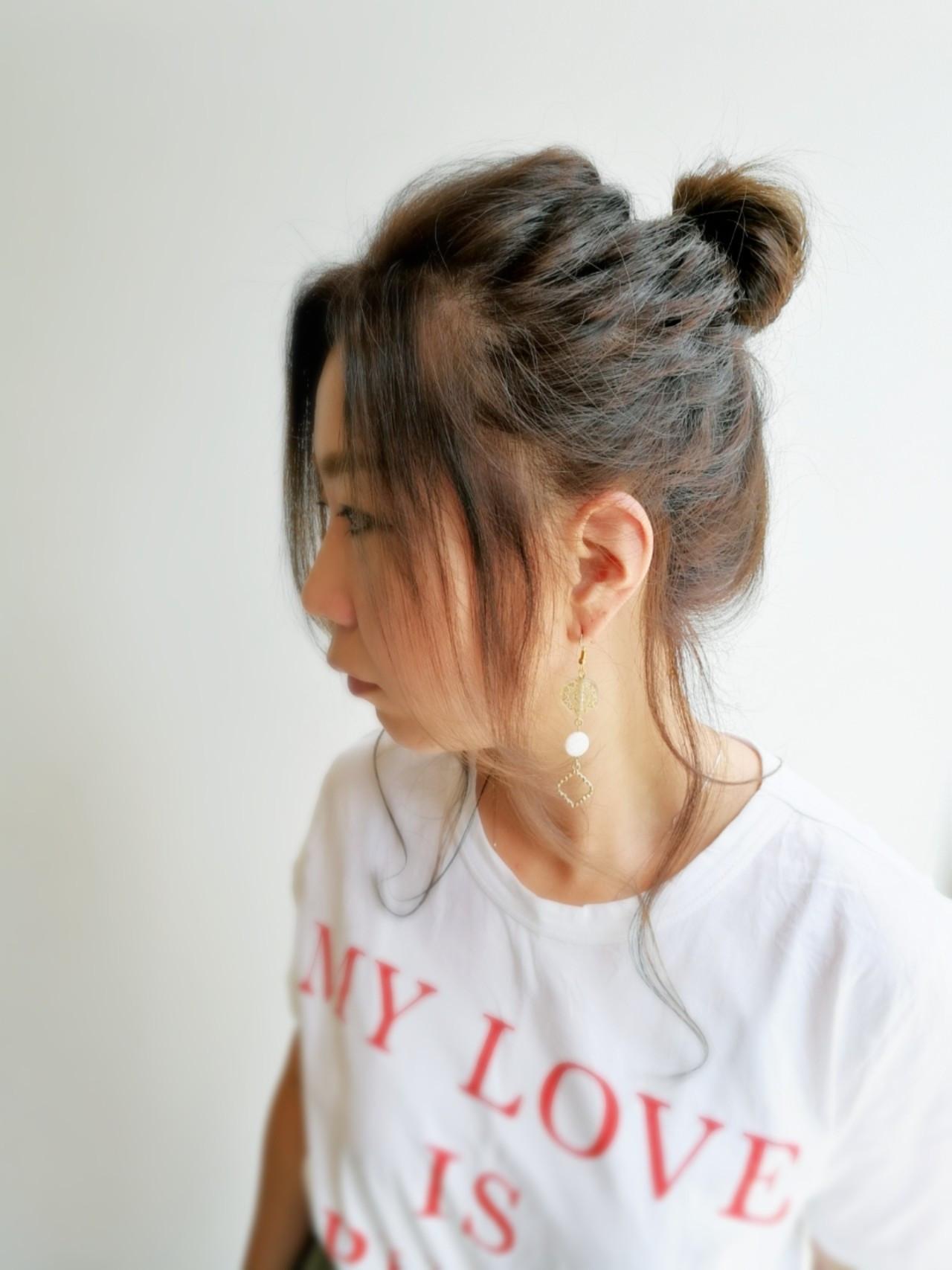 コンサバ ローライト ヘアアレンジ オフィス ヘアスタイルや髪型の写真・画像