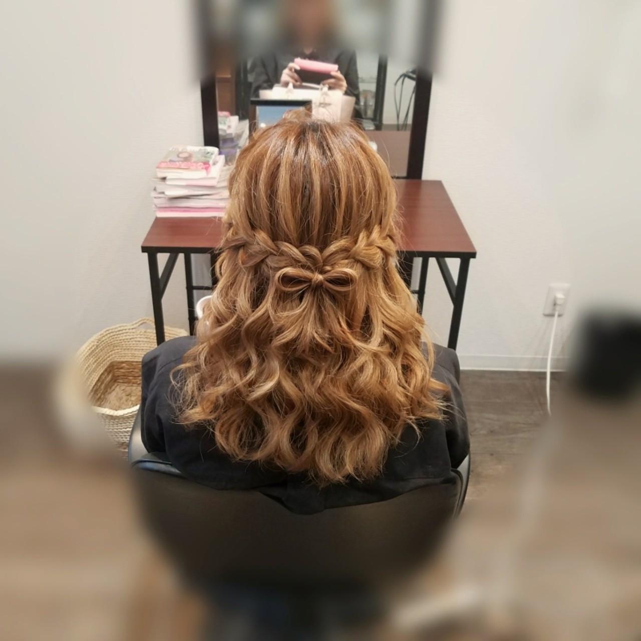 デートにおすすめの編み込み mai | HAIR SALON STELLA