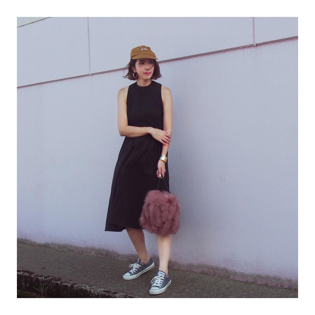 暑さ対策にマスト!帽子 出典:misato36