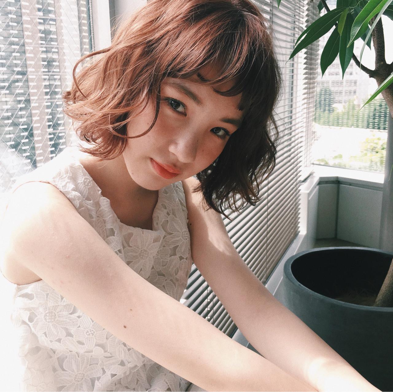 ウェーブをすればかわいさアップ♡ 谷口 翠彩