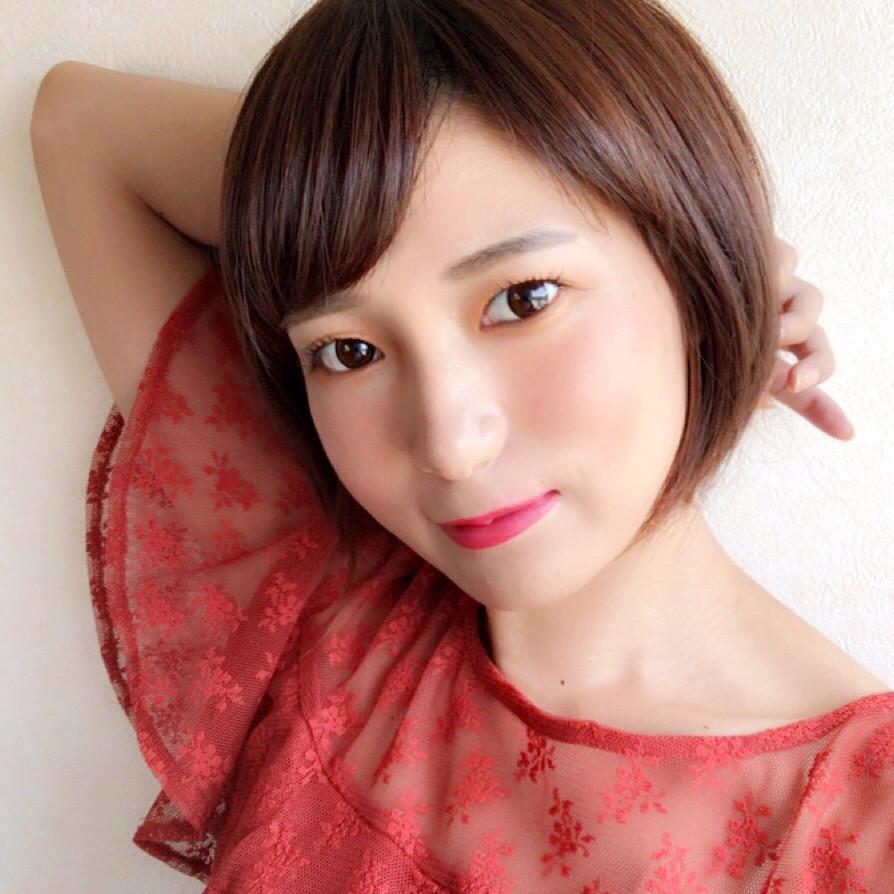 パッと明るい薄盛りオレンジアイメイクの完成! tomoko1217.mokotti