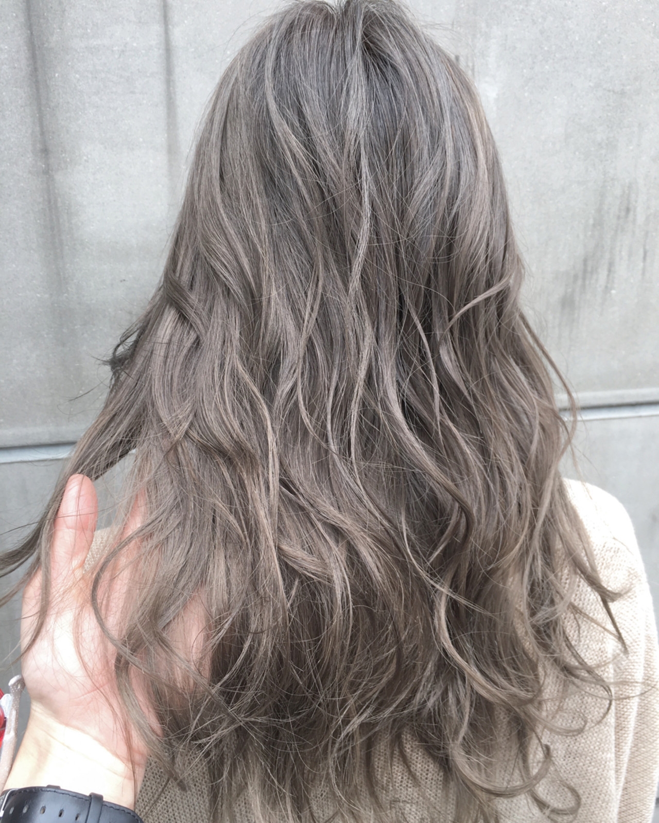 フェミニン 大人かわいい グラデーションカラー ハイライト ヘアスタイルや髪型の写真・画像