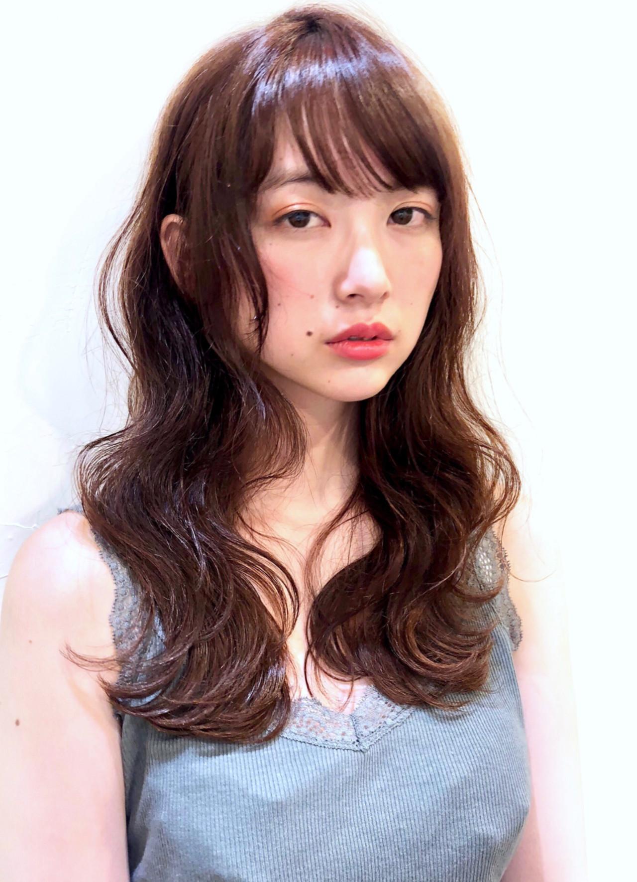 大きめカールが魅力のほの揺れスタイル 戸梶 翔太 GARDEN