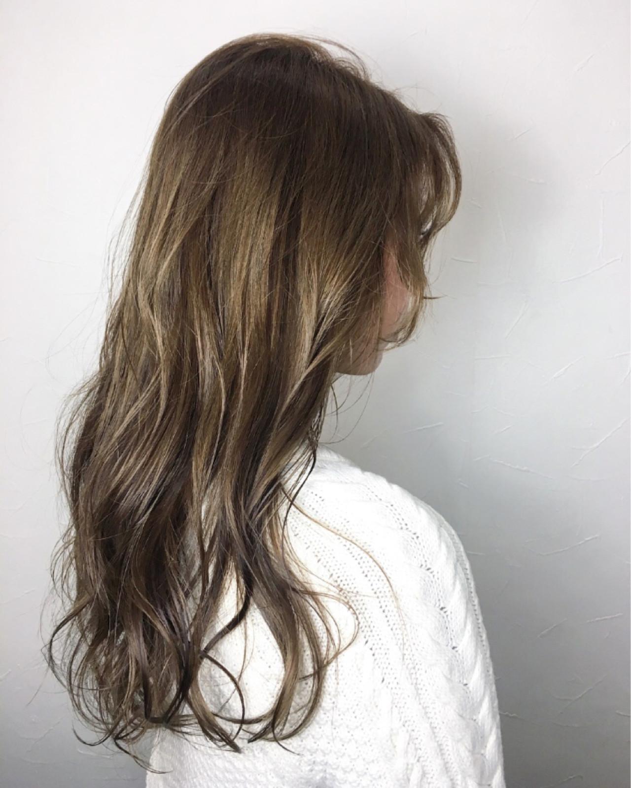 フェミニン 春 ロング ウェットヘア ヘアスタイルや髪型の写真・画像