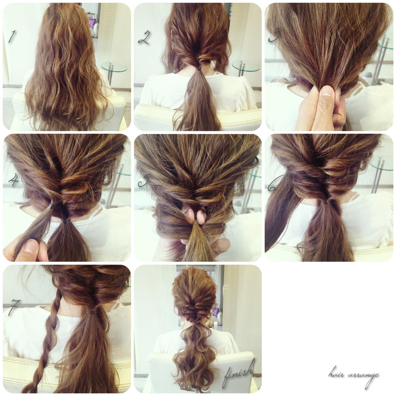 ヘアアクセ 大人かわいい ヘアアレンジ ロング ヘアスタイルや髪型の写真・画像