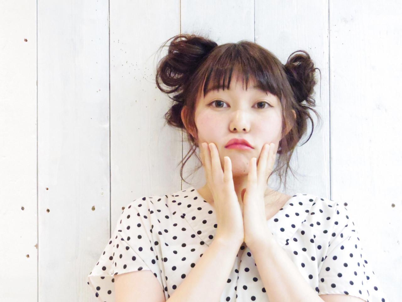 ミディアムさんのお団子アレンジ Namika Kitamura