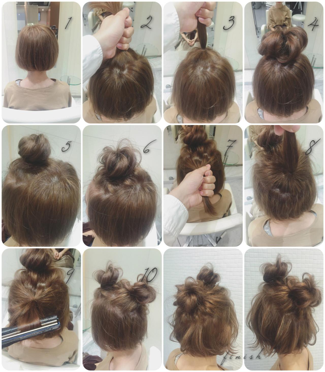 簡単ヘアアレンジ中学生向けの髪型 takashi cawamura