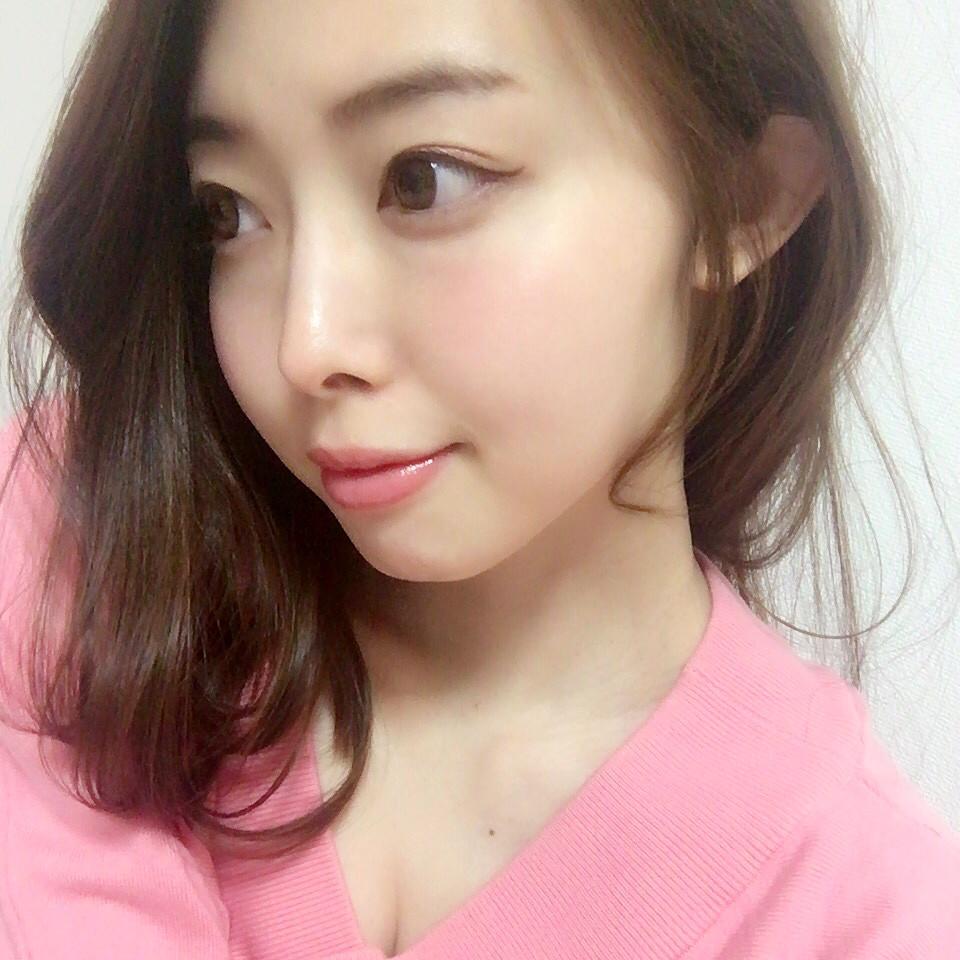 朝:チークとリップの血色感だけ yuika_matsushita