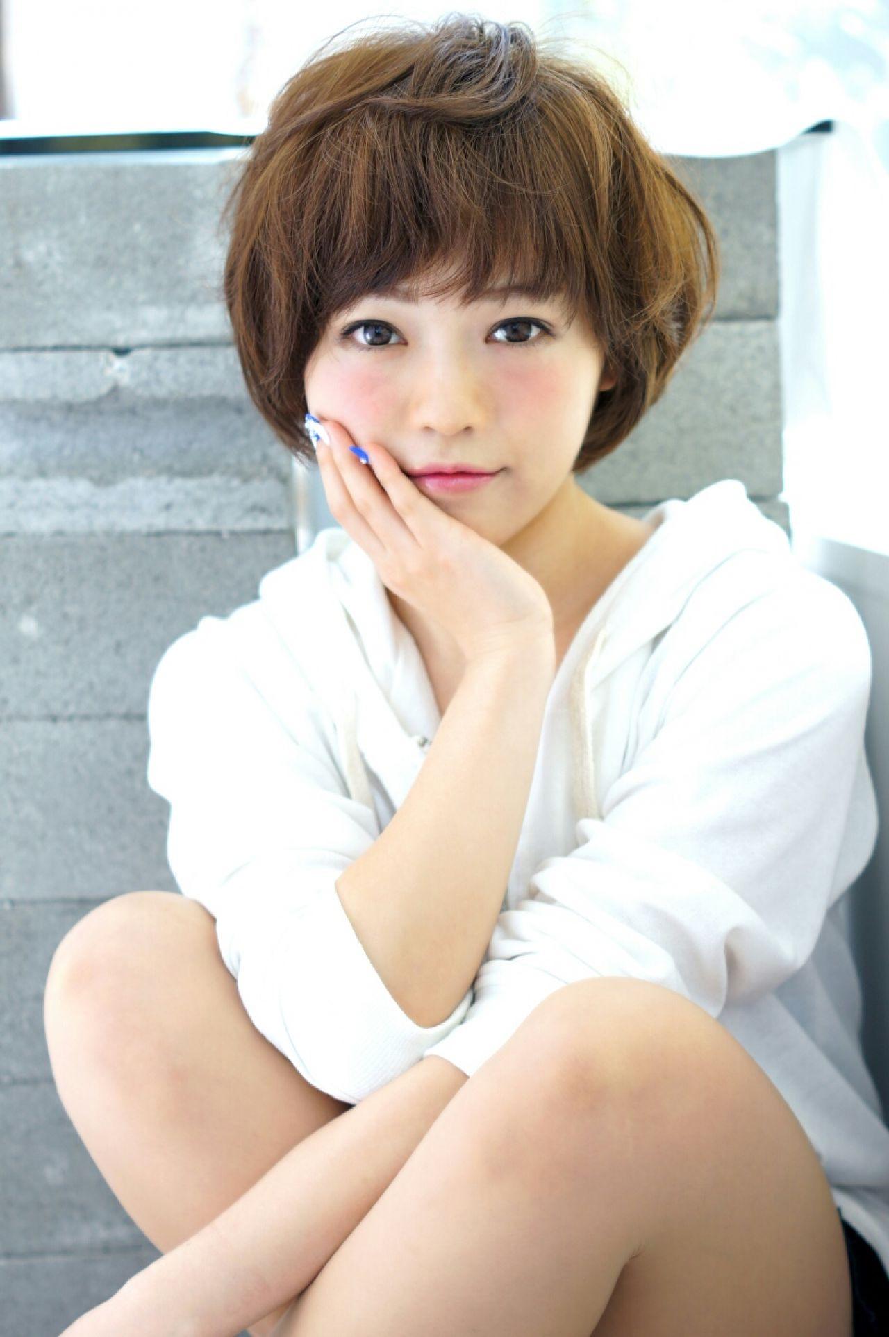 目力たっぷり♡甘いフェイスの厚め前髪ヘア Ciel Hairdesign 代表 今田 亮