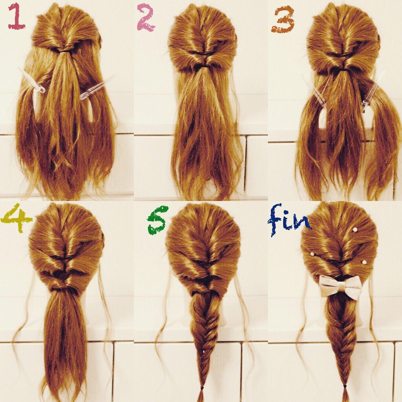 三つ編み ガーリー セミロング ヘアアレンジ ヘアスタイルや髪型の写真・画像