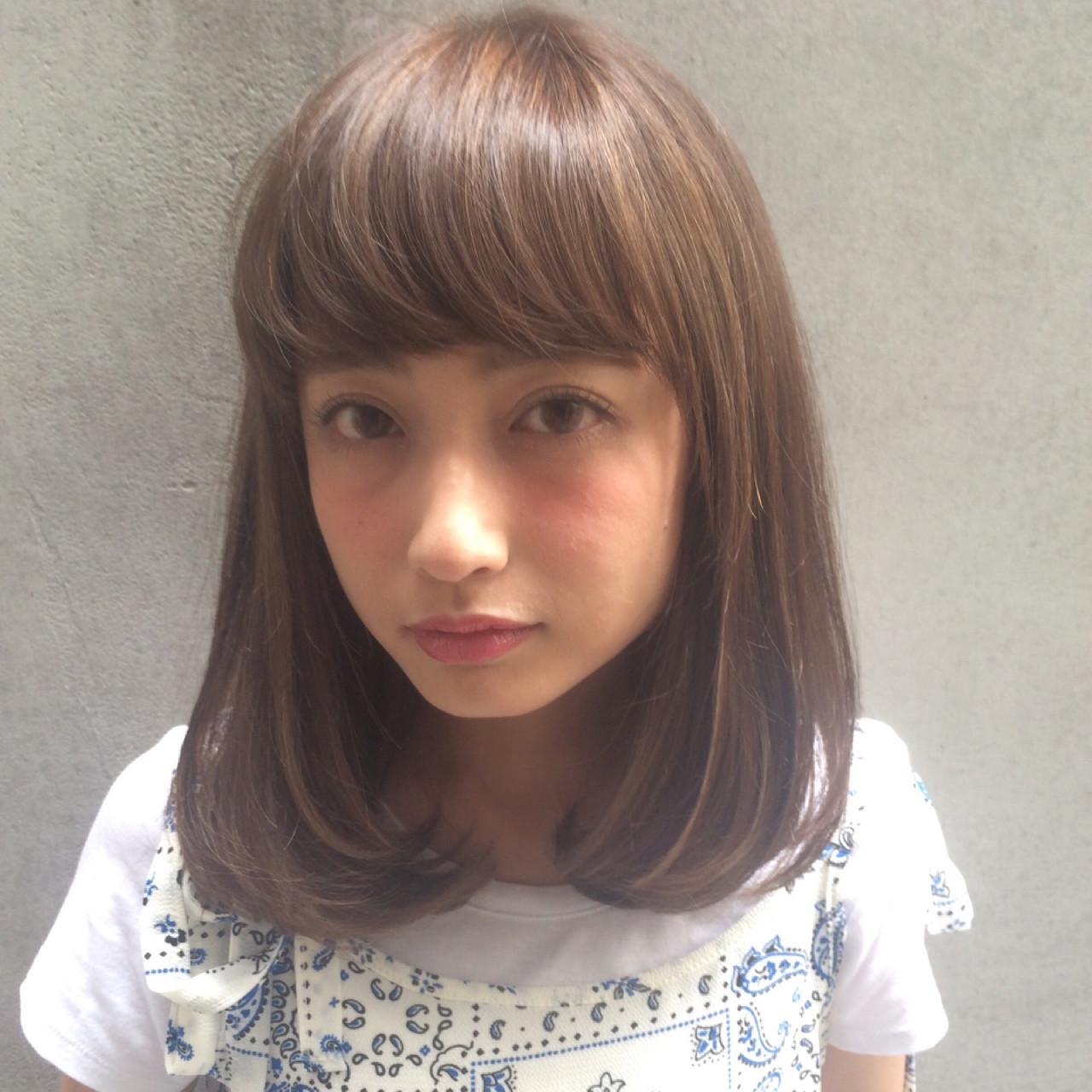 どうやるの?ワイドが可愛い前髪の切り方☆ Tierra / 町田雄一