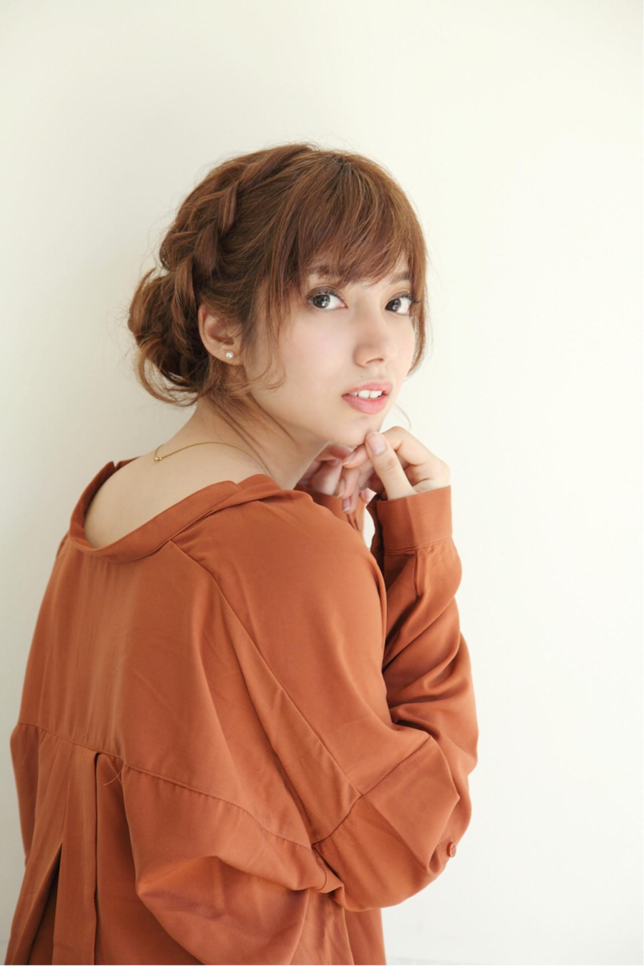 大人可愛い編み込みまとめ髪がマスト 松永拓巳  Noz Harajuku
