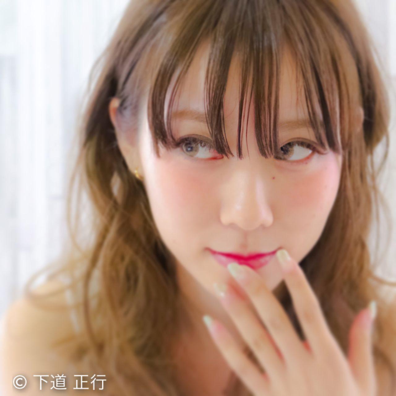 女子に人気♡可愛い前髪シースルーバング☆ 下道 正行