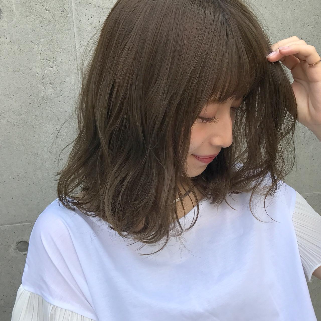 ゆったりアンニュイに!大人女性のミディアムボブ 伊藤愛子 GARDEN