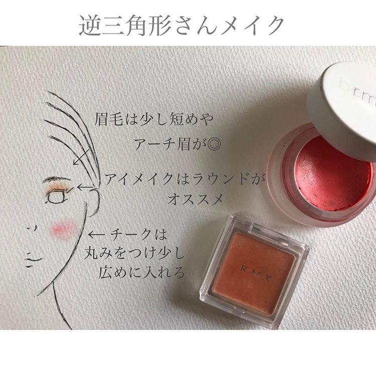 逆三角顔は丸みのある仕上がりが大事 hikaru027