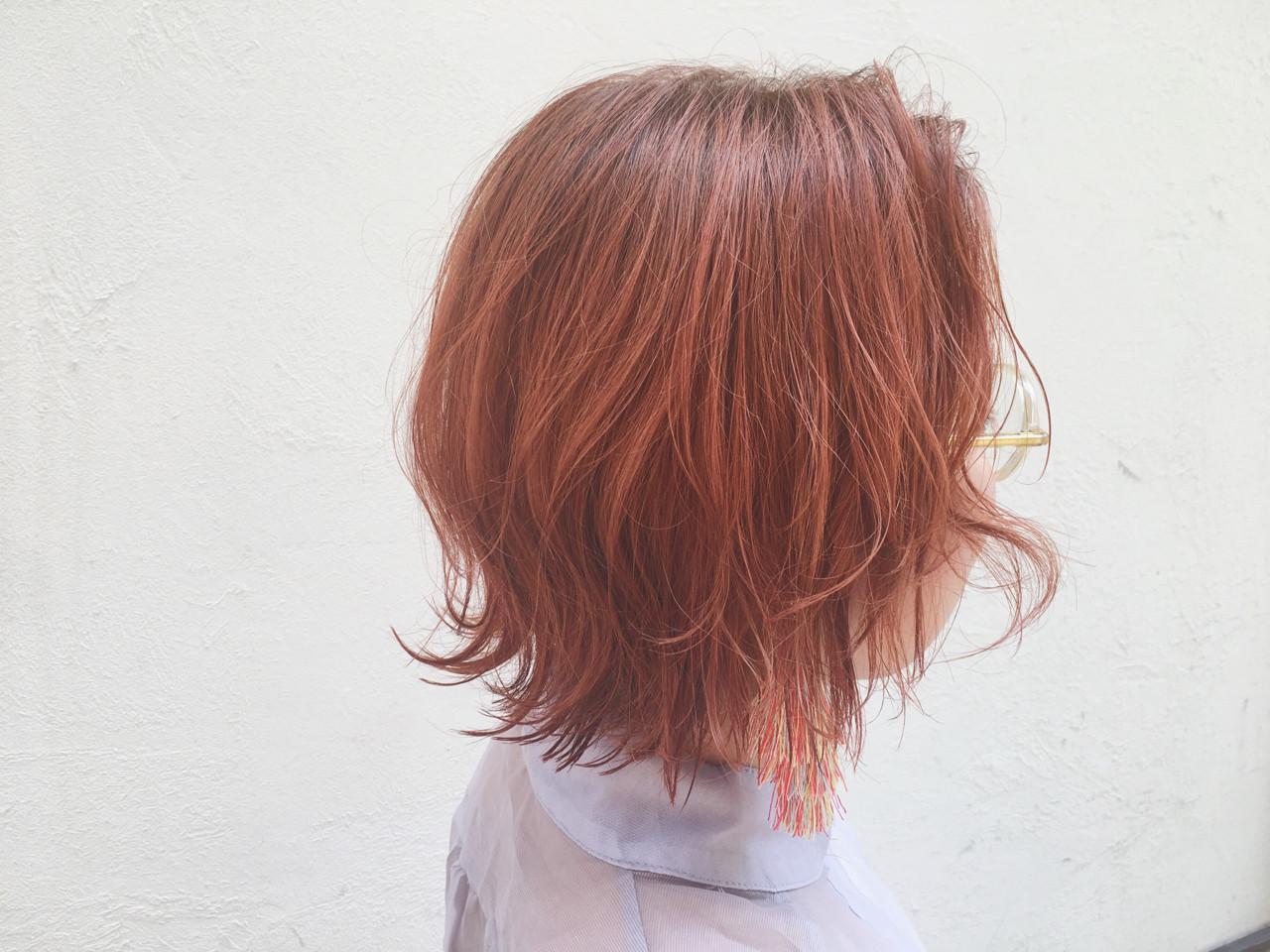 夏 モード ボブ 外ハネ ヘアスタイルや髪型の写真・画像