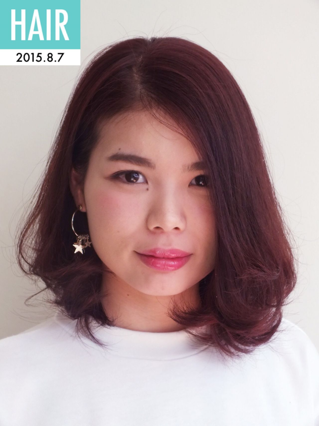 モテ髪 ゆるふわ 大人かわいい ミディアム ヘアスタイルや髪型の写真・画像