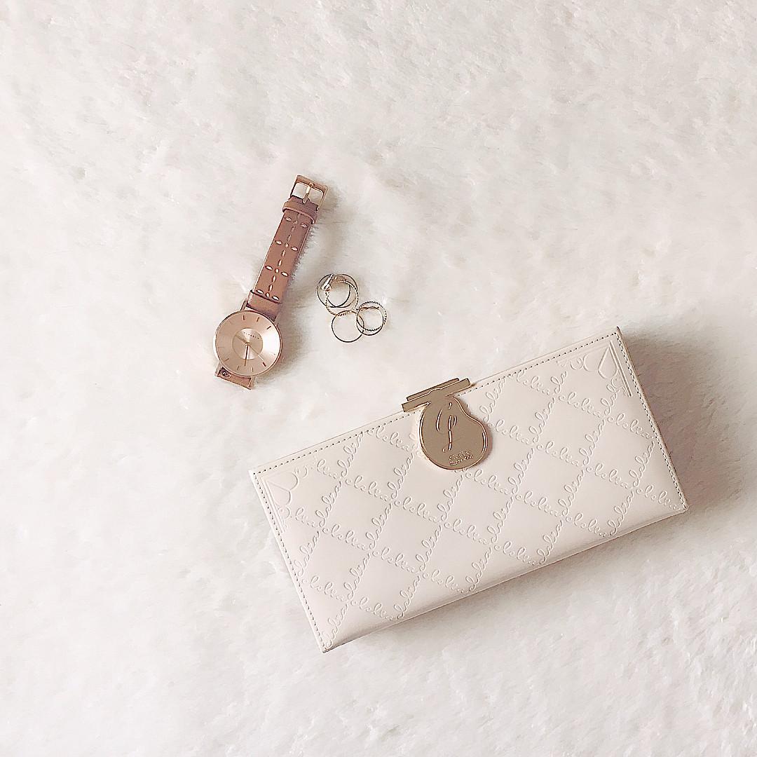 おしゃれながま口財布でバッグの中も可愛く♡ dayofme0607