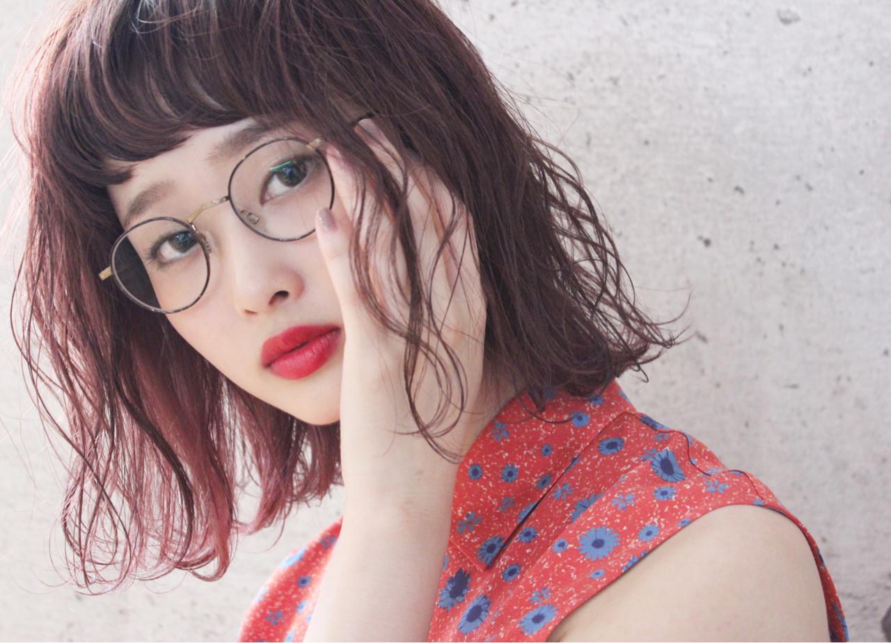大人かわいいピンクニュアンスカラー 上田智久 福岡 天神