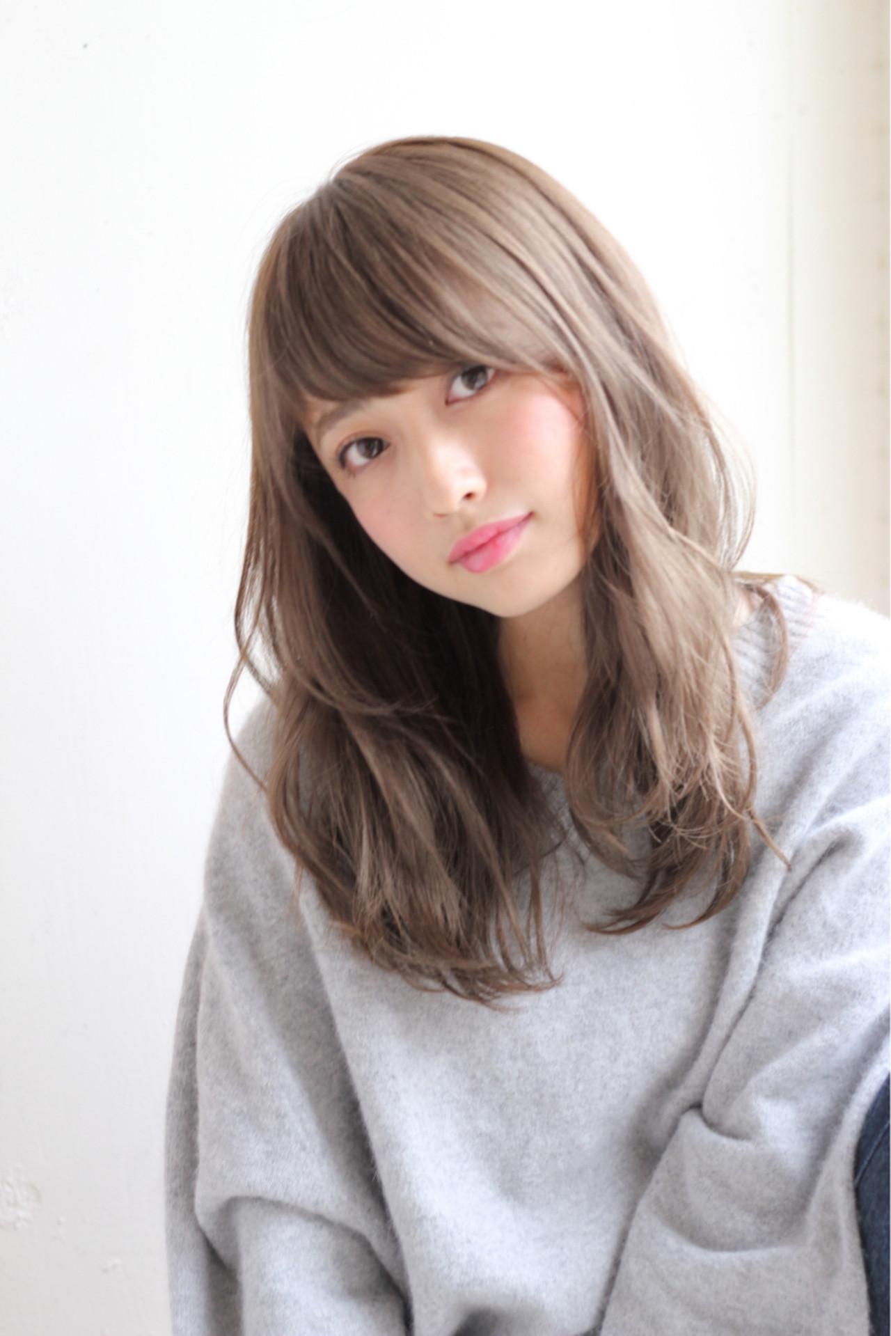 冬 フェミニン デート モテ髪 ヘアスタイルや髪型の写真・画像