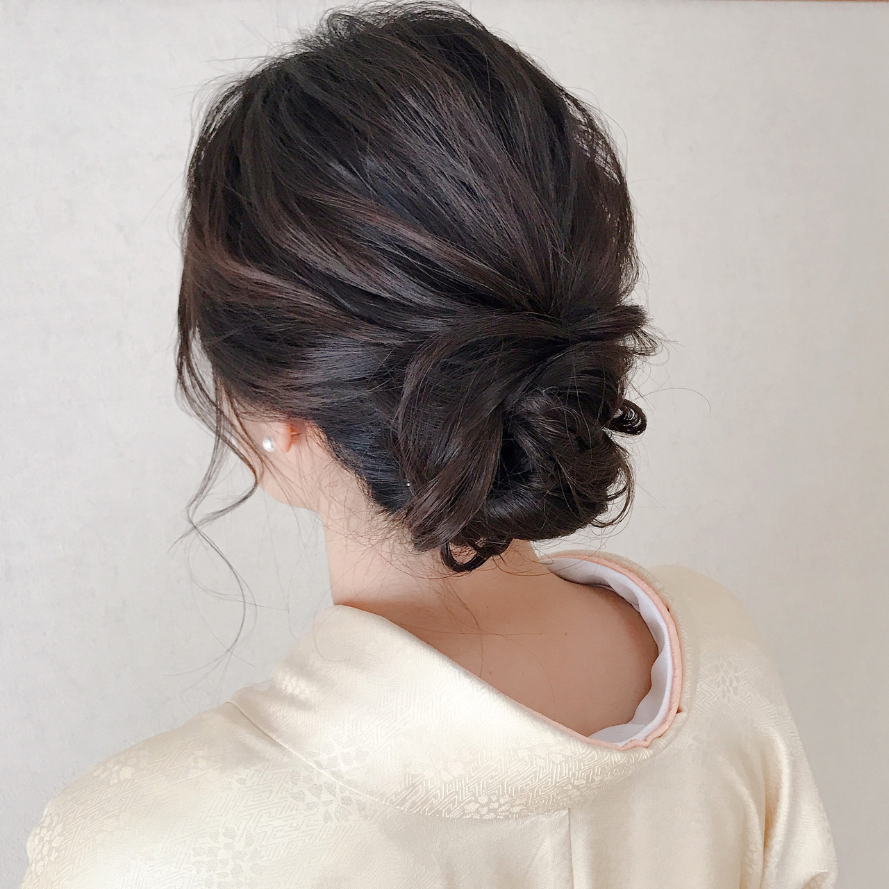 美しさを引き立てる!着物に似合う髪型で華やかに清楚に♡