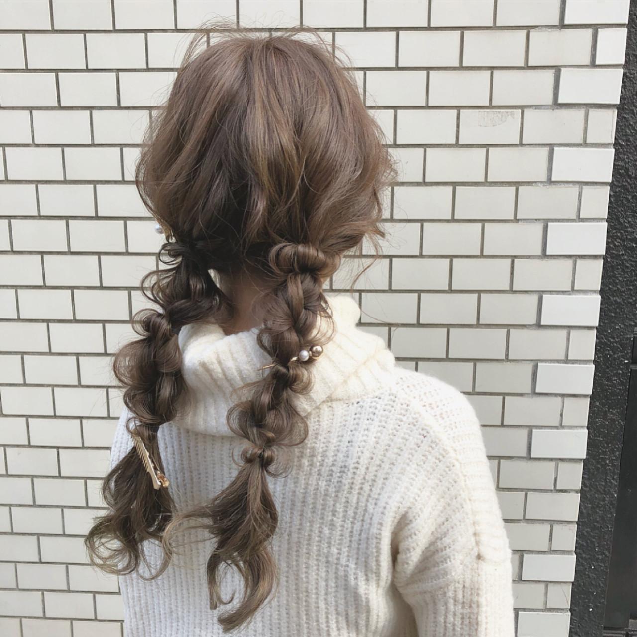 ナチュラルガーリーなくるりんぱ玉ねぎヘア hii.de@✂︎  CHERIE hair design