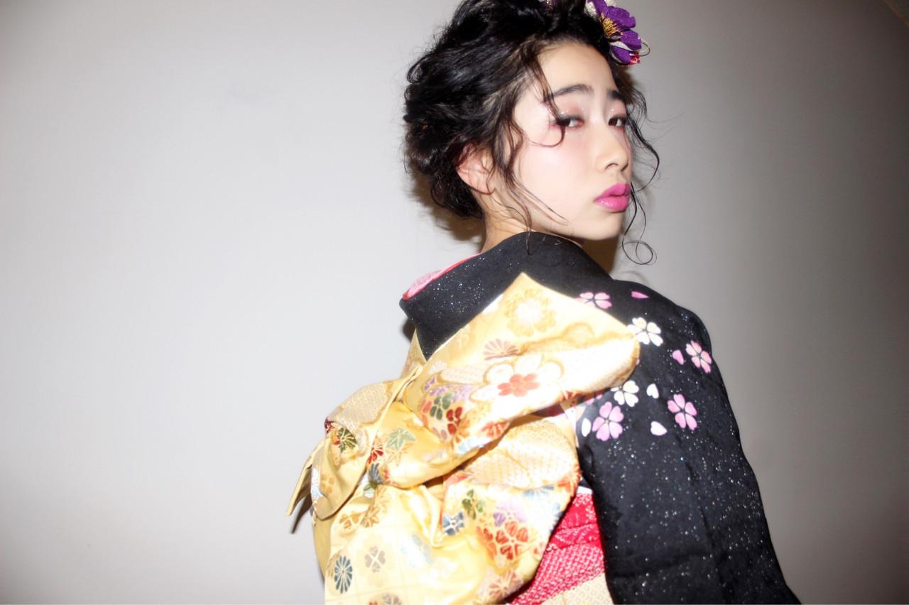 顔まわりのほの揺れカールでフェミニンに 長井美菜  Carlm