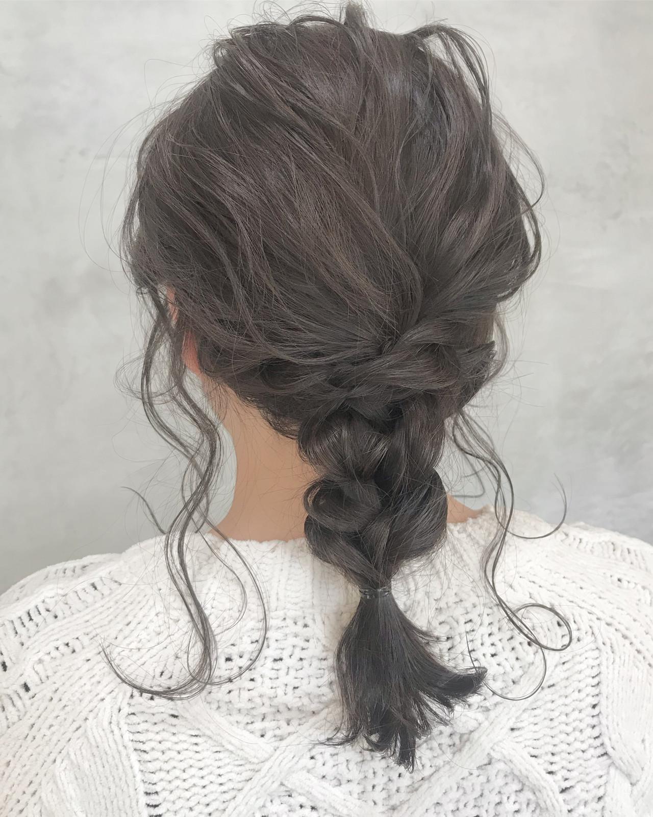 ラプンツェル風編み込みでひと味違う髪型に とも  sourire 今泉店