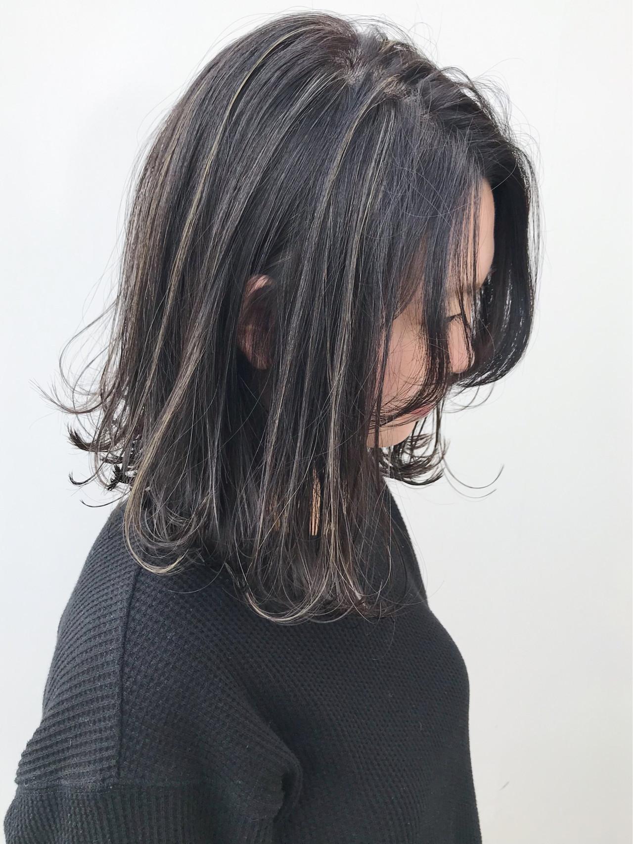 外ハネ 大人かわいい イルミナカラー コンサバ ヘアスタイルや髪型の写真・画像