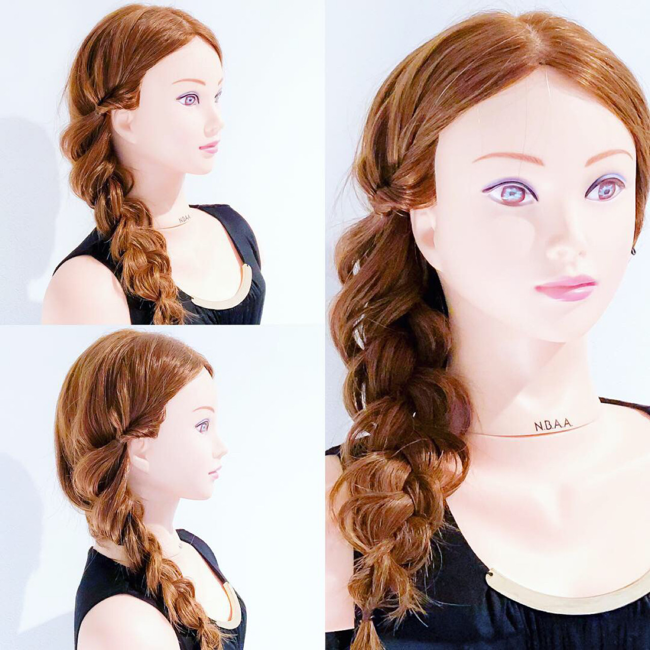 ヘアアレンジ デート フェミニン 女子力 ヘアスタイルや髪型の写真・画像