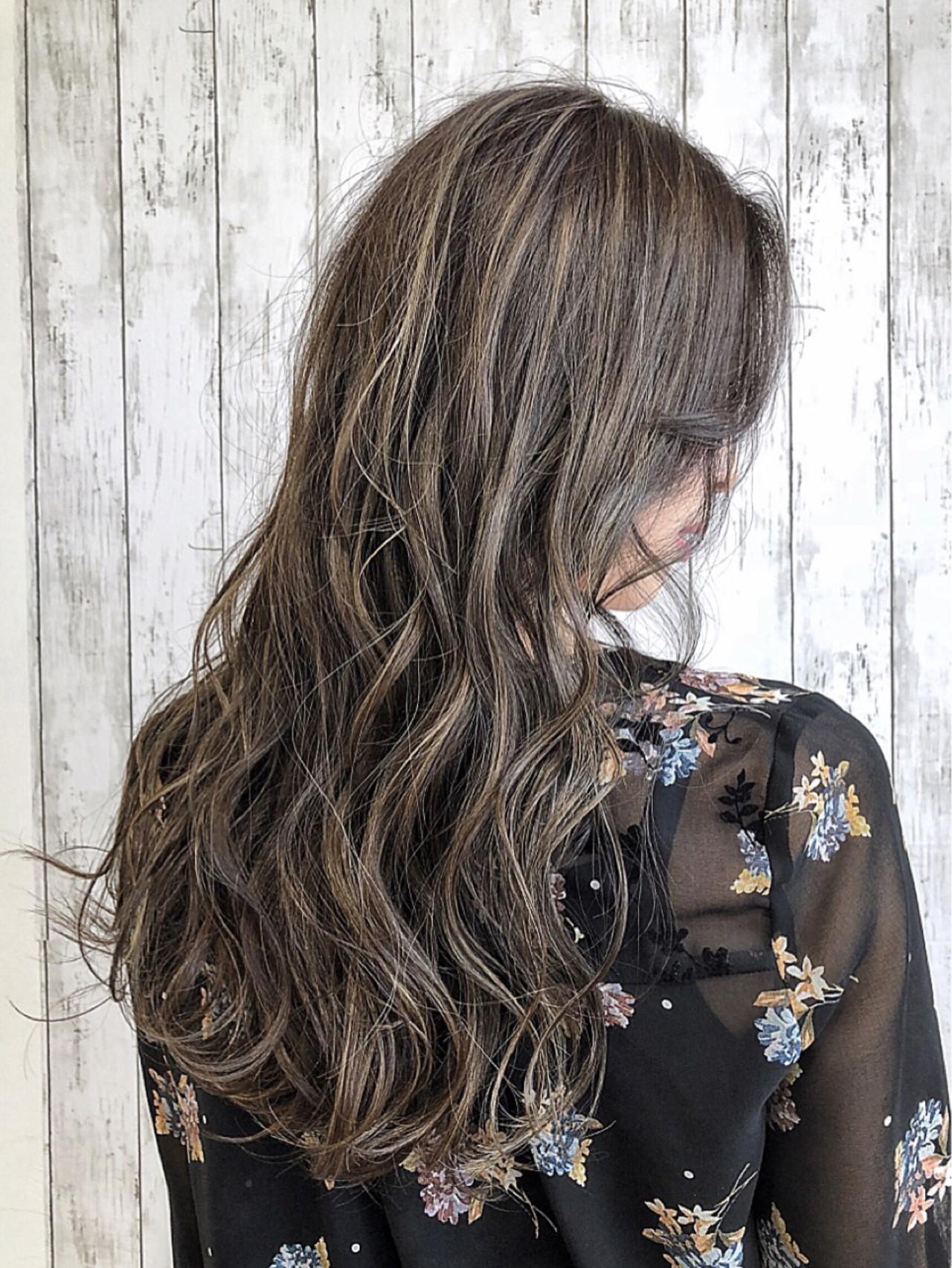 外国人風カラー ガーリー ロング 大人かわいい ヘアスタイルや髪型の写真・画像