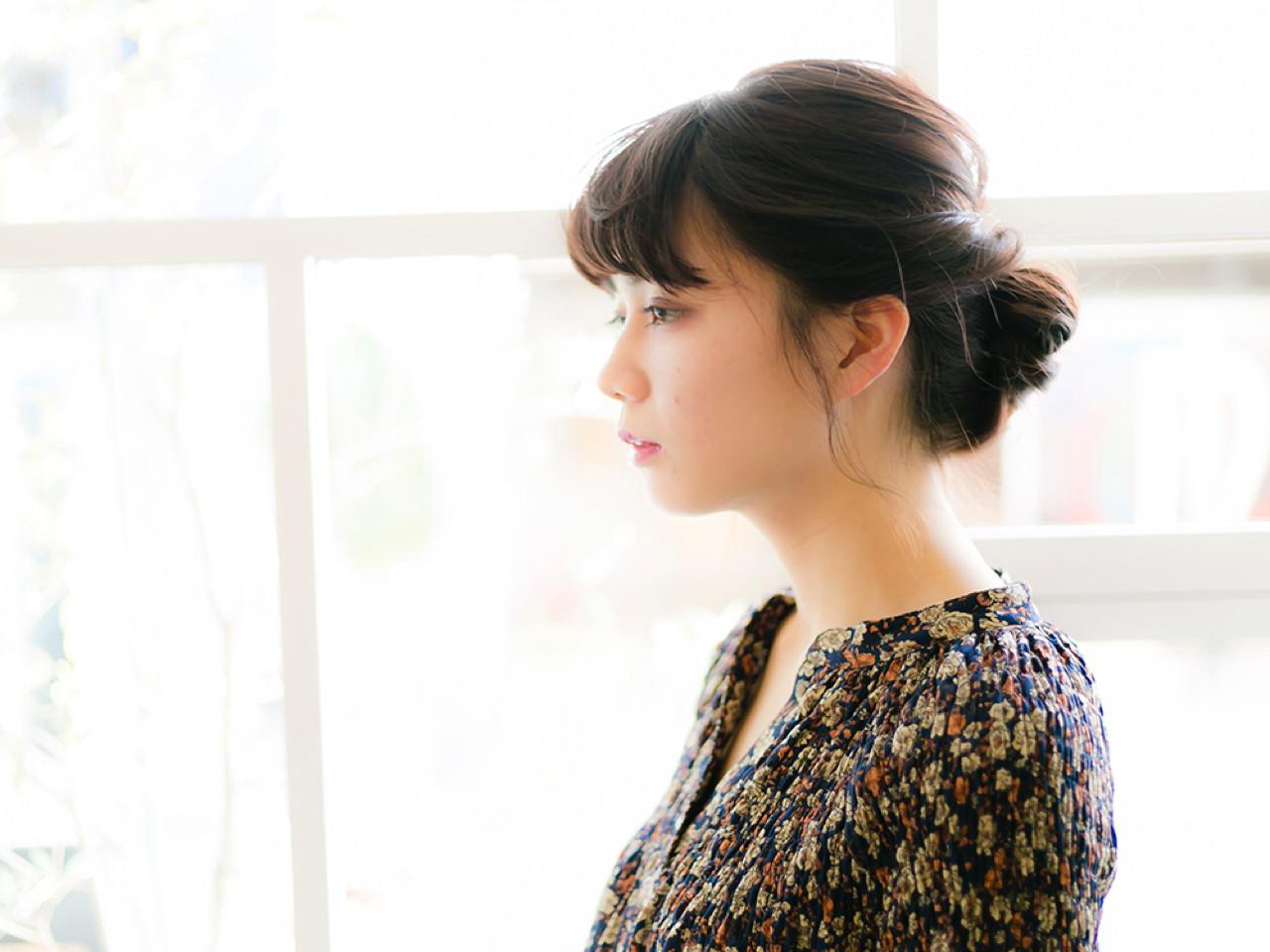 【ショート・ボブ】短めでもできる!大人可愛いシニヨン 花本 昇誉