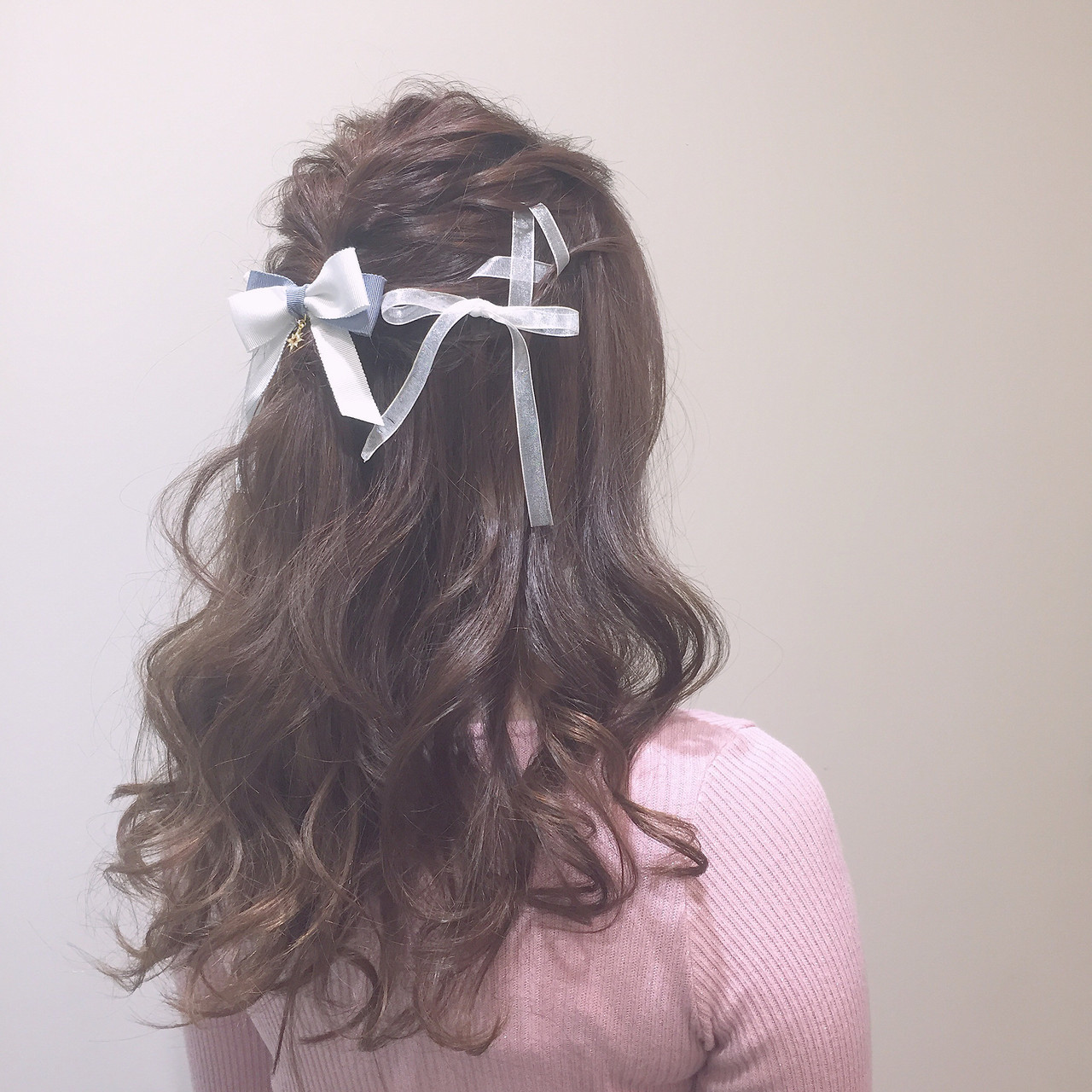 ヘアアレンジ ロング ガーリー ヘアメイク ヘアスタイルや髪型の写真・画像