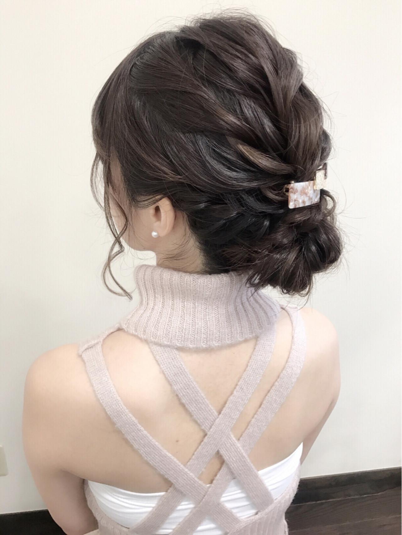 大人女子 フェミニン 大人かわいい 結婚式 ヘアスタイルや髪型の写真・画像