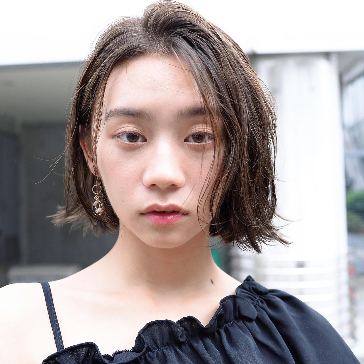 ノーバングで女っぽく♡ 萩原 翔志也/vicca