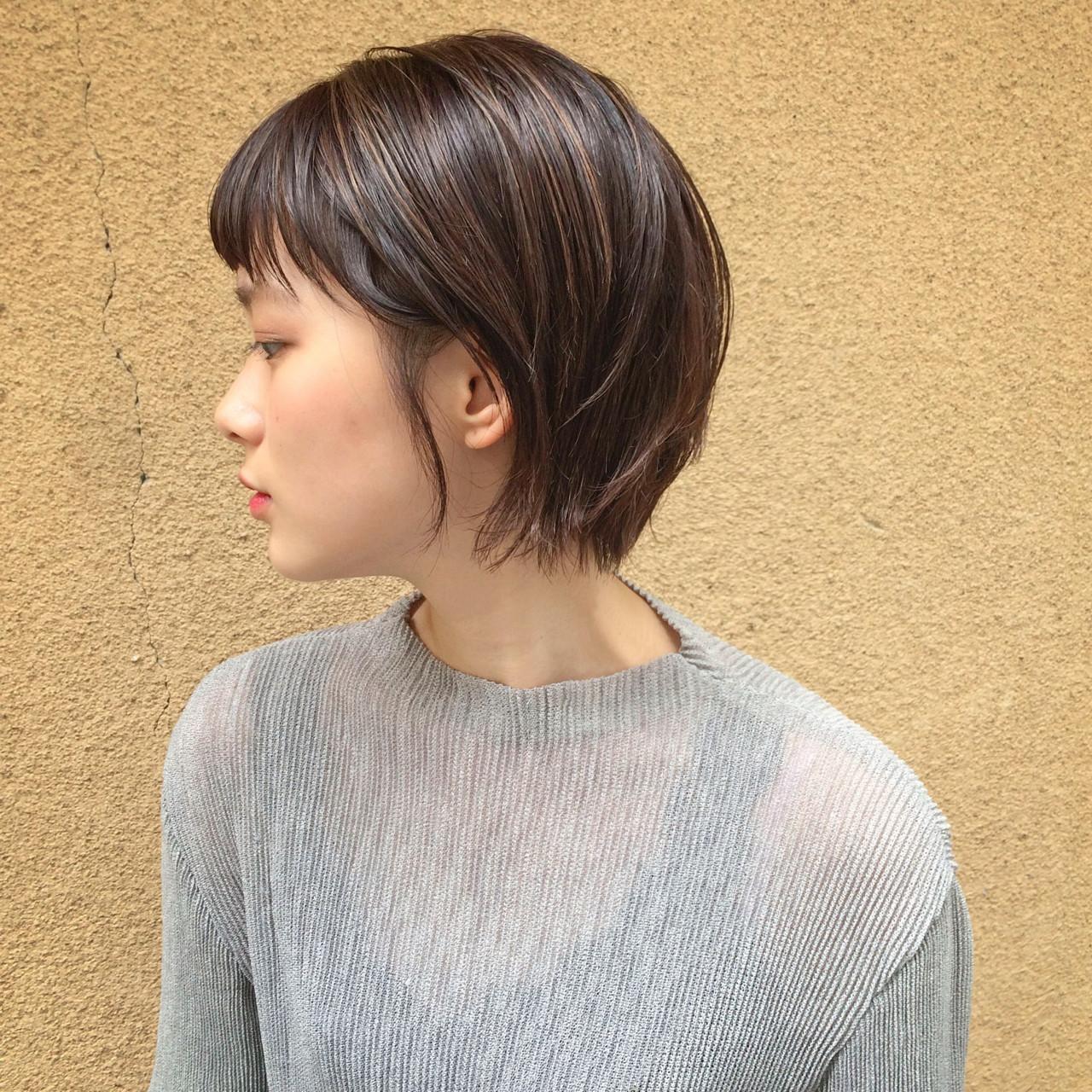濡れ髪はサイド耳かけをするとカジュアル タカハシ アヤミ  ROVER