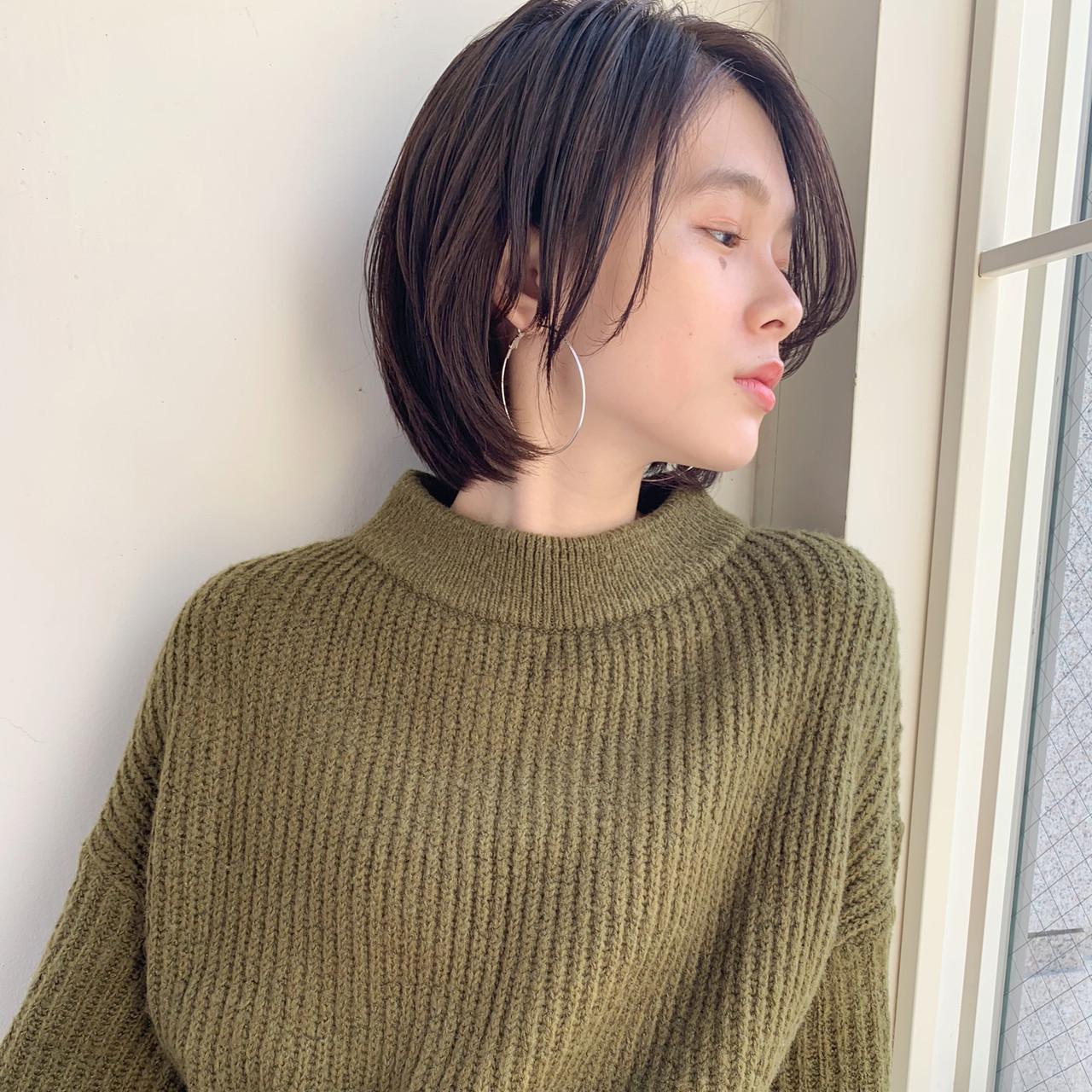 ショート デート アウトドア モード ヘアスタイルや髪型の写真・画像