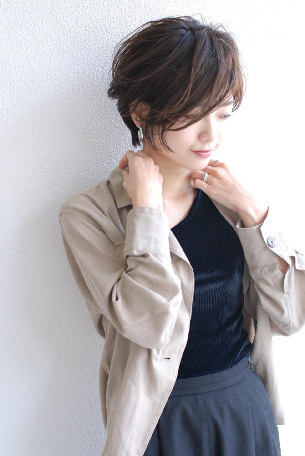 ゆる巻きパーマで軽やかショートヘア♡ Mari