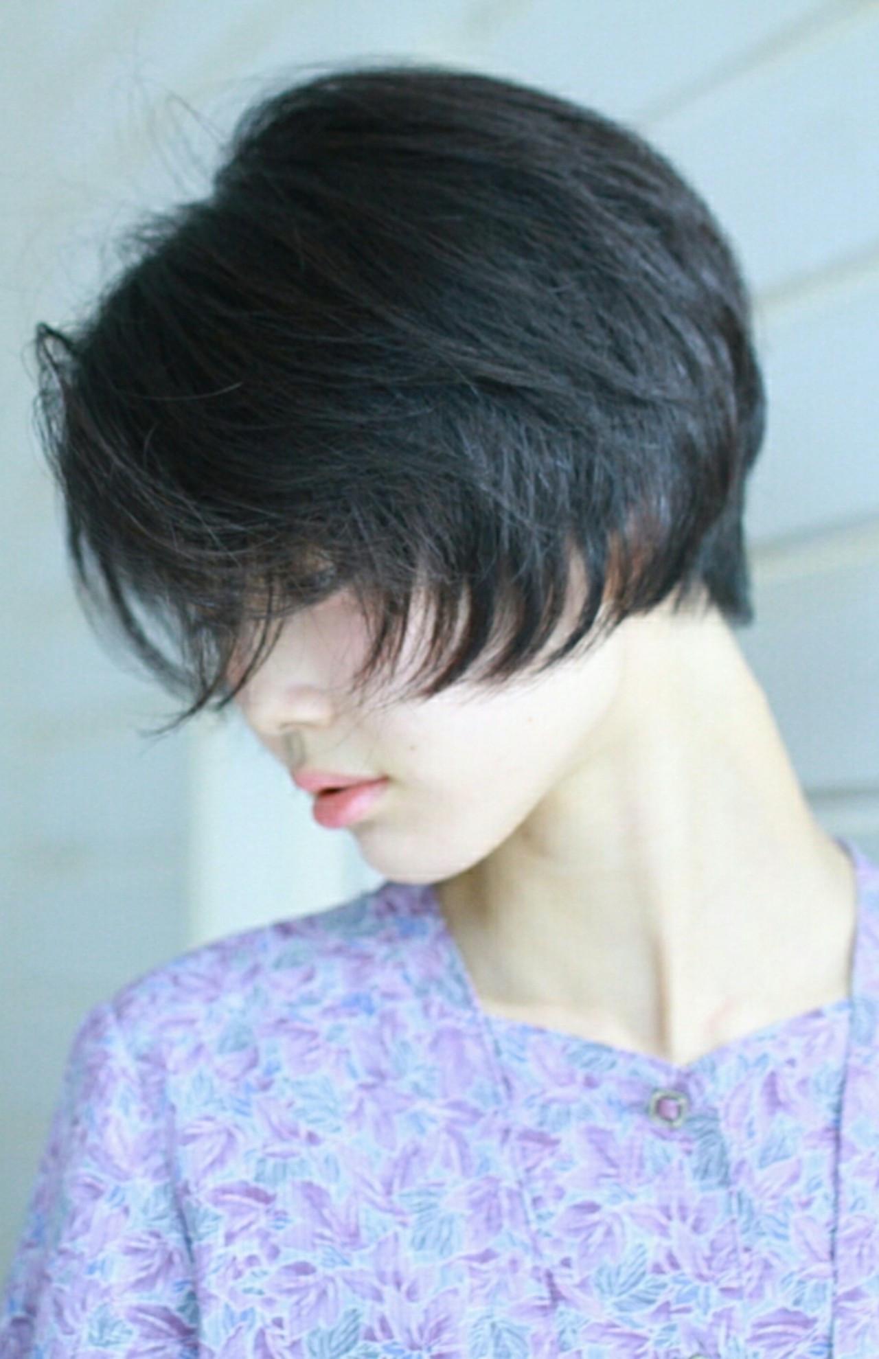 長め前髪が大人の印象を演出♪ MMai