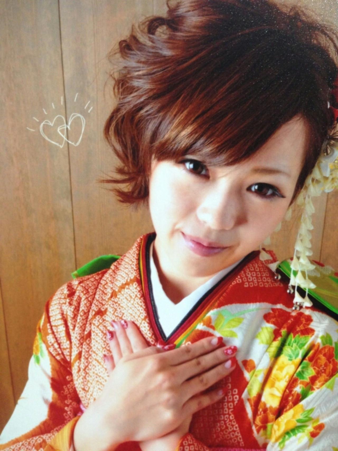 ショート 愛され ヘアアレンジ モテ髪 ヘアスタイルや髪型の写真・画像