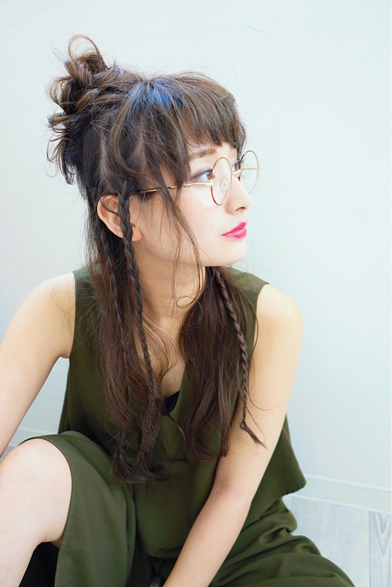 簡単可愛い♡三つ編みハーフアップ 花井啓好  リジェール名駅店