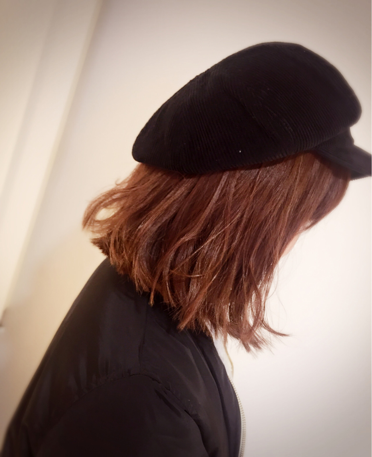 外国人風の帽子アレンジ 田室 玲子  J group