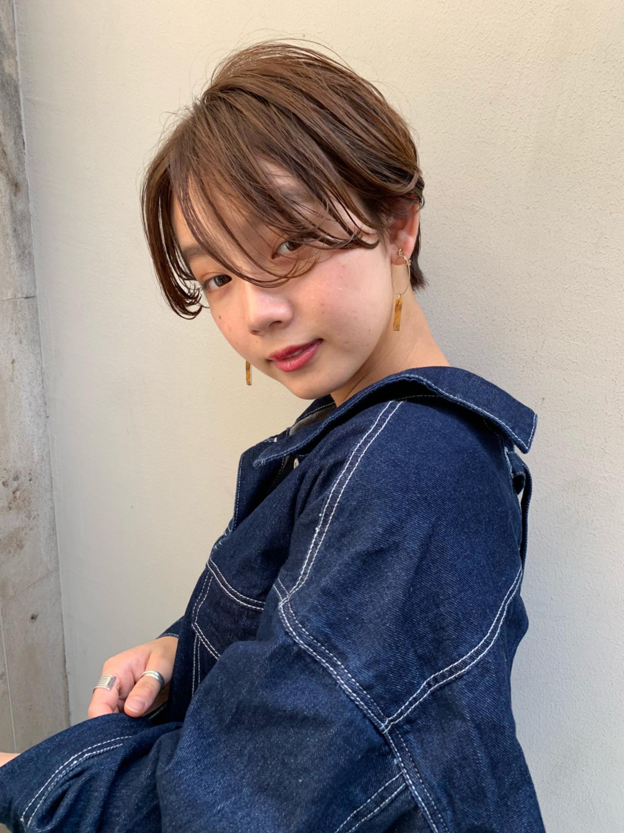 前髪なしの小顔ショート 羽田ひろむ  LAiLY by GARDEN