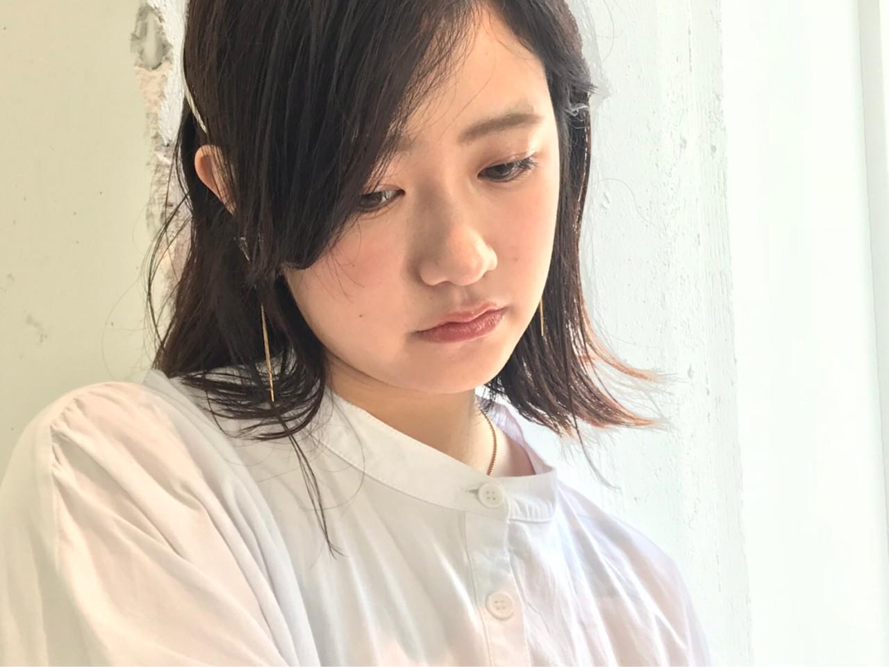 清楚なピンアレンジ yamashita  hair make EMMA