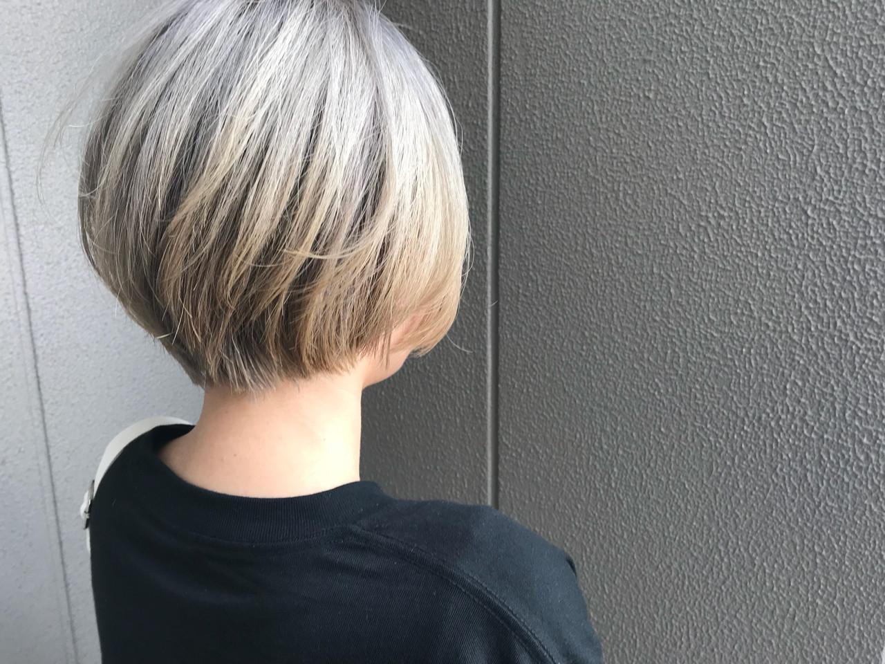 ブリーチ デート アウトドア スポーツ ヘアスタイルや髪型の写真・画像